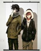 Wall Scroll Poster Fabric Painting For Anime K Project Fushimi Saruhiko & Yata Misaki 045 S