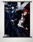 Wall Scroll Poster Fabric Painting For Anime K Project Munakata Reisi & Suou Mikoto 010 S