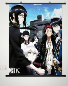 Wall Scroll Poster Fabric Painting For Anime K Project Key Roles 034 L