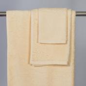 Beige Cotton Hand Towel 2/RNUM-Pack