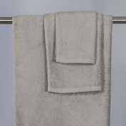 Grey Cotton Hand Towel 2/RNUM-Pack