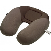 Go Travel Unique Flat-back Bean Travel Pillow Snoozer