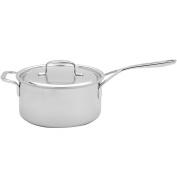 Demeyere 5-Plus Stainless Steel 3.8l Sauce Pan with Helper Handle