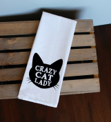 Crazy Cat Lady Kitchen Towel