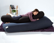 Yogibo Roll Pillow, Black