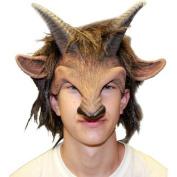 Halloween Men's Goat Boy Mask Toy