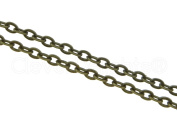 CleverDelights Rolo Chain - 330 Feet - Antique Bronze Colour - 2.5x3mm Link - 100 Metres 110 Yards