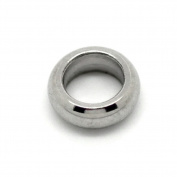 VALYRIA 50pcs Silver Tone Stainless Steel Close Jump Rings 5mm