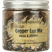 Stampendous Lux Mica and Glitter Mix, Copper