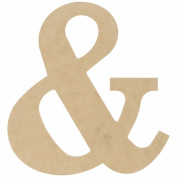 MPI MDF Classic Font Wood Letters and Numbers, 24cm , Symbol &