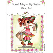 My-Besties Clear Stamps, Shop Till You Drop, 10cm by 15cm