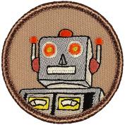 Robot Patrol Patch - 5.1cm Round.