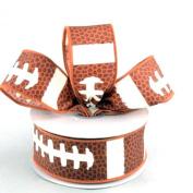 Football Laces Ribbon 3.8cm X 10 Yards