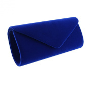 Jubileens Wedding Evening Party Velvet Clutch Bag Retro Envelope Cross Body Handbag