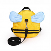 E'Plaza Bee with Wings Baby Kid Toddler Walking Safety Harness Strap Cosplay Backpack Reins Bag