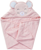 Carter's Hooded Towel - Pink Mouse