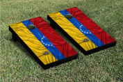 Victory Tailgate Country Rippled Flag Cornhole Game Set