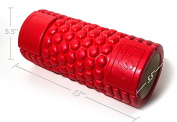 Naturo Fitness Products Sport Foam Roller, Honeycomb Design, Ultra Durable and Hardwearing, Perfect for Myofascial Muscle Release, Trigger Point Release and Sports Massage, 14cm X 33cm