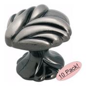 Amerock BP1475-PWT Expressions Delicate Pewter Cabinet Hardware Knob - 2.5cm - 1cm Diameter, 10 Pack