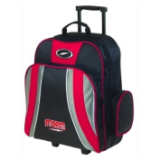 Storm Rascal 1 Ball Roller Bowling Bag- Red/Black/Silver