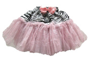 Zebra Print Glitter Petti Skirt