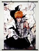 Anime family Home Decor Anime Japan Poster Wall Scroll Bleach Kurosaki Ichigo New Cos