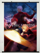 Anime family Game Japan Fate/stay night Home Decor POSTER WALL Scroll Rin Tohsaka Cos