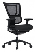 iOO Eurotech Office Ergonomic Chair Black Mesh and Black Frame