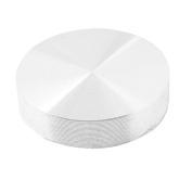 Dimart 8mm Thread 37mm Dia Round Shape Aluminium Disc Hardware for Glass Table