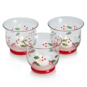 Pfaltzgraff Winterberry 3-pc. Votive Holder Set