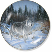 Wolf Collector by Jim Kasper 21cm Decorative Collector Plate