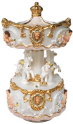 """MusicBox Kingdom 14234 The 140mm Carousel Music Box Playing """"Blue Danube"""""""