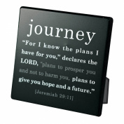 Lighthouse Christian Products Simple Faith Journey Plaque, 9.5cm x 9.5cm