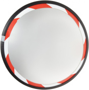 See All PLXO18RT Convex Mirror, Acrylic Plastic Face, High Visibility Edge, Outdoor Use, 46cm Diameter