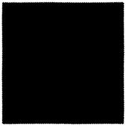 Futon Cover - Premium Solid Black - Handmade in USA - Twin