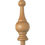 Sanded Maple Finial, 18cm