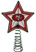 San Francisco 49ers Christmas Tree Topper