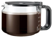 Medelco Replacement Glass Carafe Pause & Serve, Universal Black