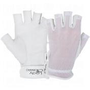 Lady Classic Ladies Solar Tan Golf Half Glove 1/2 Glove