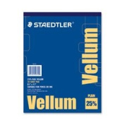 Vellum Pad, 7.3kg., 50 Sheets, 20cm - 1.3cm x 11, Sold as 1 Pad, 50 Each per Pad