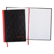 Casebound Notebook Plus Pack, Ruled, 8 1/4 x 11 3/4, 96 Sheets, 2/Pack, Sold as 2 Each