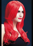 Womens Halloween Deluxe Gothic Long Red Wavy Khloe Wig