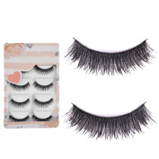 Sanwood 5 Pairs Makeup Eye Lashes Extension False Eyelashes Beauty