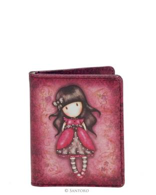 Gorjuss Ladybird Travelcard Holder 2 Transparent Pockets 8x10cms Santoro