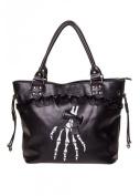 Banned Apparel Renegades Gothic Handbag Black Black