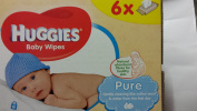 Pure Baby Wipes 6X56