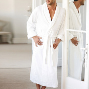 Suprem 500gsm Super Absorbent Terry Unisex White Robe - Large