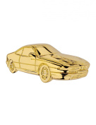 Gold Plated Cabouchon Pin BMW 850 series