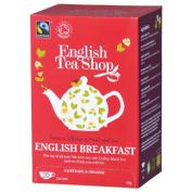 English Tea Shop - English Breakfast - 20 Sachet Envelope - 40g
