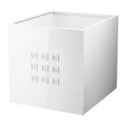 IKEA LEKMAN - Box, white - 33x37x33 cm
